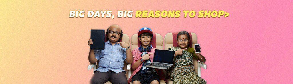 Flipkart Big Billion Days Sale 2019 : Upto 90% OFF + 10% Extra Discount 2