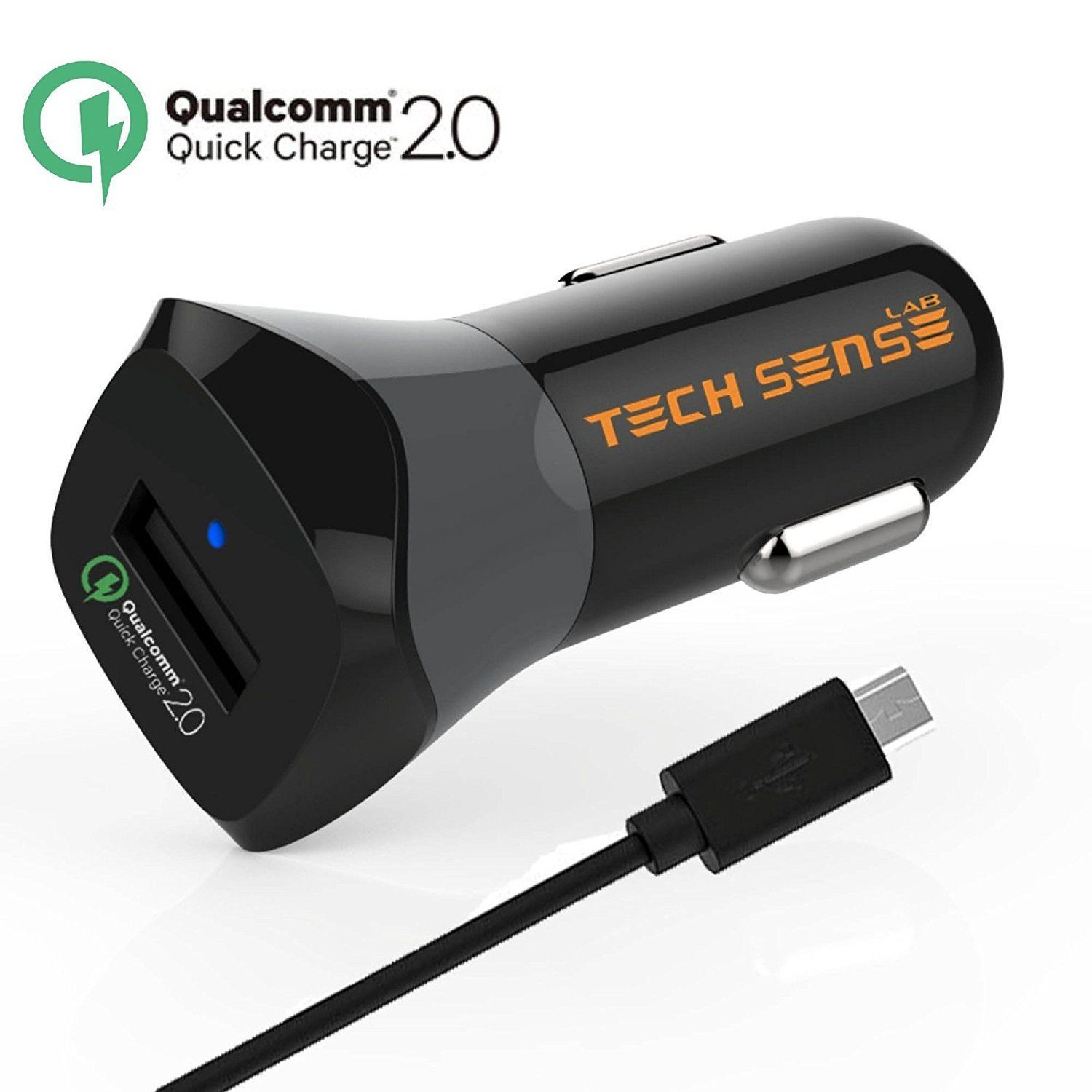 Tech Sense Lab Qualcomm Certified Quick Charge