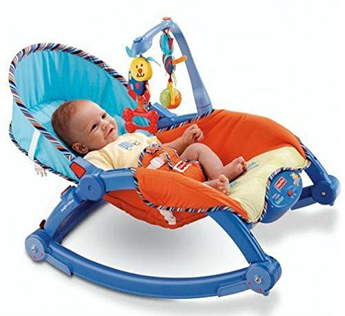 ICW Newborn-to-Toddler Portable Rocker Bouncer Chair