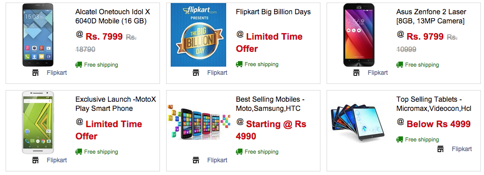 Flipkart Big Billion Days Sale 2019 : Upto 90% OFF + 10% Extra Discount 1