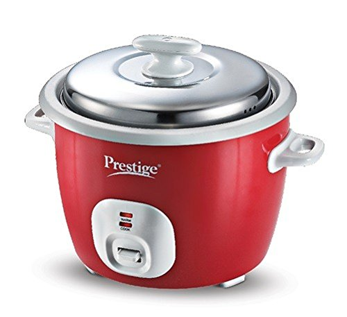prestige-cute-delight-electric-rice-cooker-18-2l-red Top 10 Best Selling Electric Rice Cookers in India