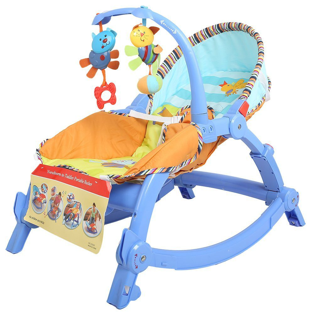 Baybee-MyPlay-Newborn-To-Toddler-Portable-Rocker-Chair The 10 Best Baby Rocking Chairs in India Reviews & Price List 2018