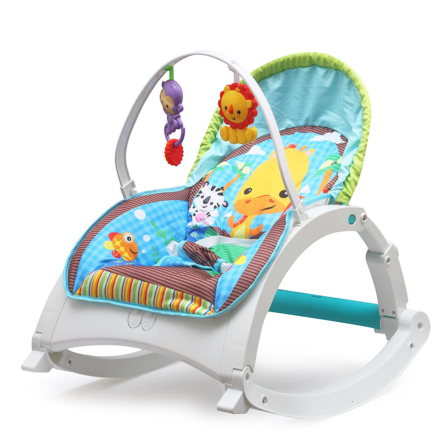 Fiddle-Diddle-Baby-Bouncer-Cum-Rocker The 10 Best Baby Rocking Chairs in India Reviews & Price List 2018