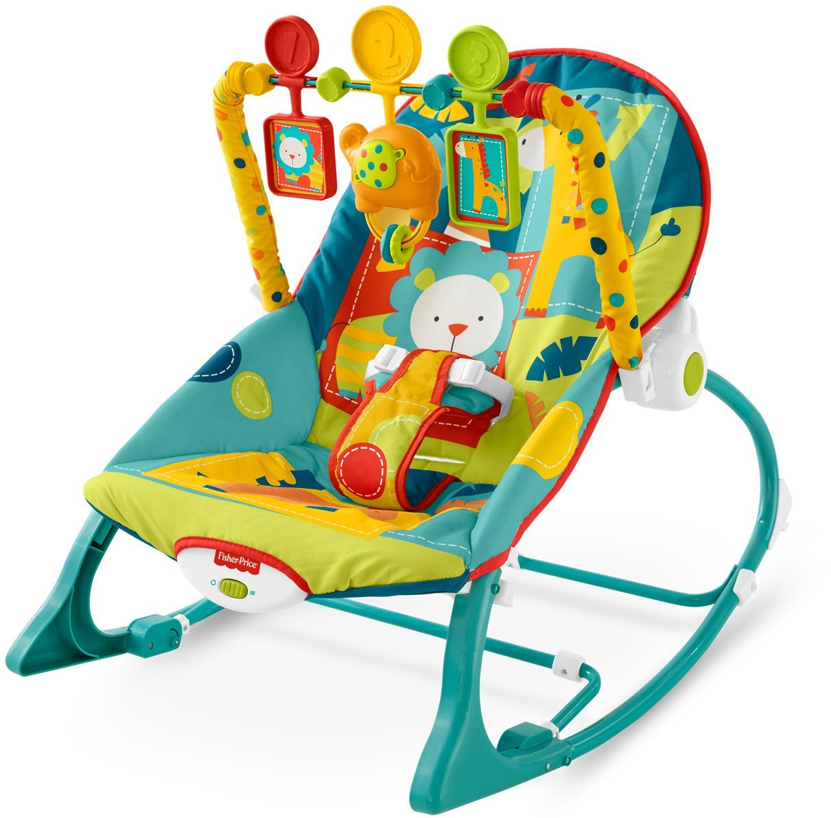 Fisher-Price-Infant-To-Toddler-Rocker The 10 Best Baby Rocking Chairs in India Reviews & Price List 2018