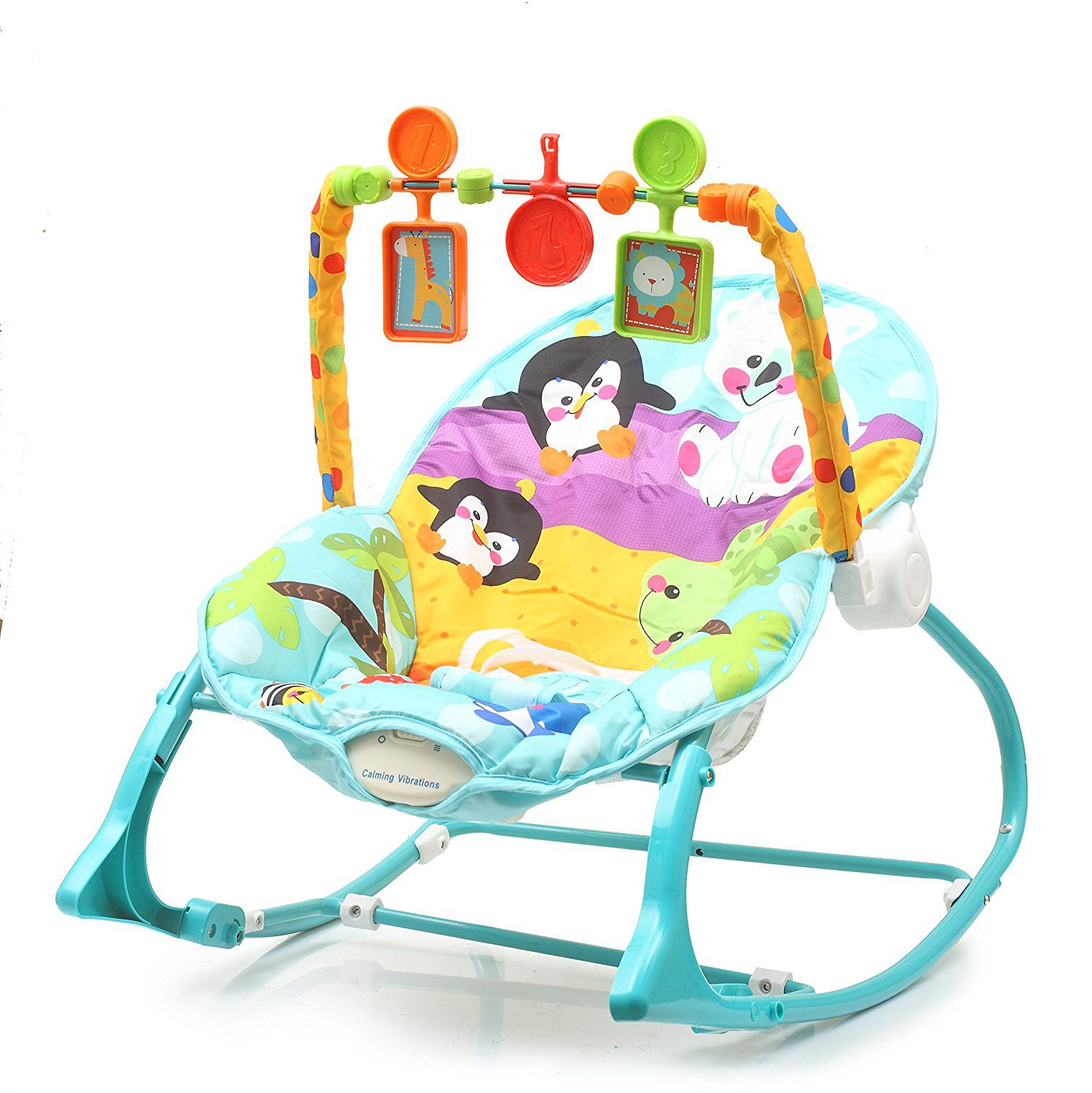 The-Flyers-Bay-Fiddle-Diddle-Baby-Bouncer-Cum-Rocker The 10 Best Baby Rocking Chairs in India Reviews & Price List 2018