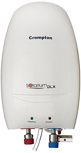 Crompton Solarium DLX IWH03PC1 3-Litre Instant Water Heater (Ivory)