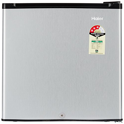 haier-52-l-3-star-direct-cool-single-door-refrigerator-hr-62vs-silver-grey Top 10 Mini Refrigerator/Fridges To Buy Online In India 2018