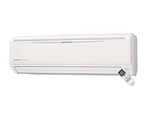 O General 1.5 Ton 5 Star Inverter Split AC (Copper, ASGA18JCC, White)