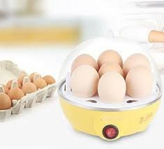 Sunam'S Egg Boiler/Egg Poacher/ 7 Egg Cooker/Electric Egg Boiler/ Egg Steamer/ Home Machine Egg Boiler With Egg Tray.