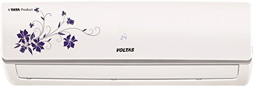 Voltas 1.5 Ton 3 Star Inverter Split AC (Copper, 183V SZS Floral, White)