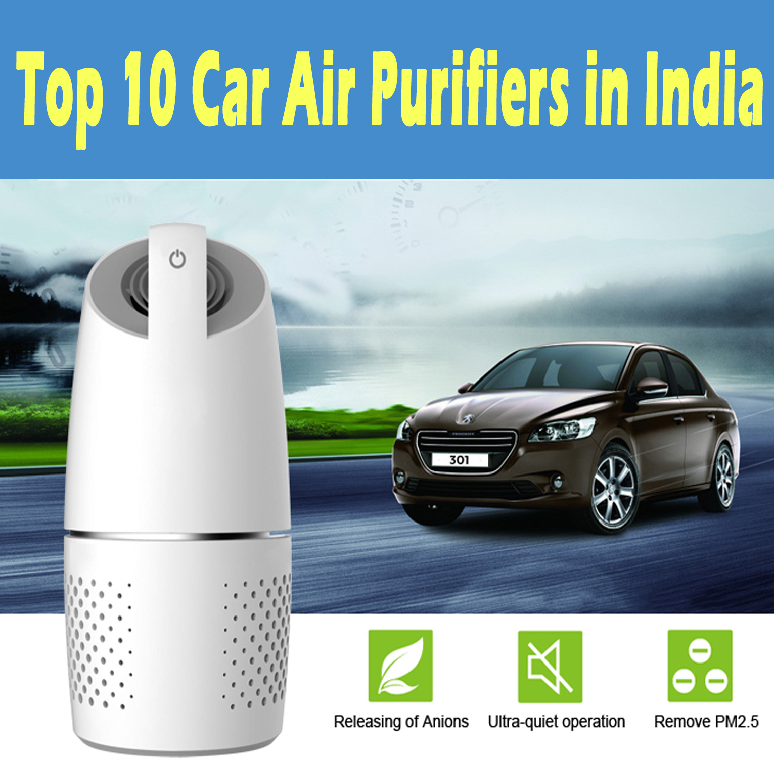 Top 10 Best Car Air Purifiers in India – Ratings & Reviews 2