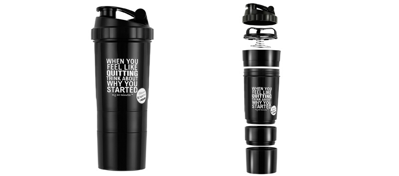 My 60 Minutes Gym Shaker Bottle