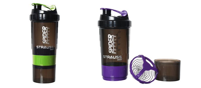 Strauss Spider Shaker Bottle 500ML