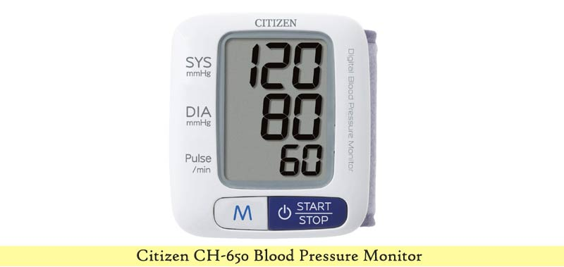 Citizen CH-650 Blood Pressure Monitor